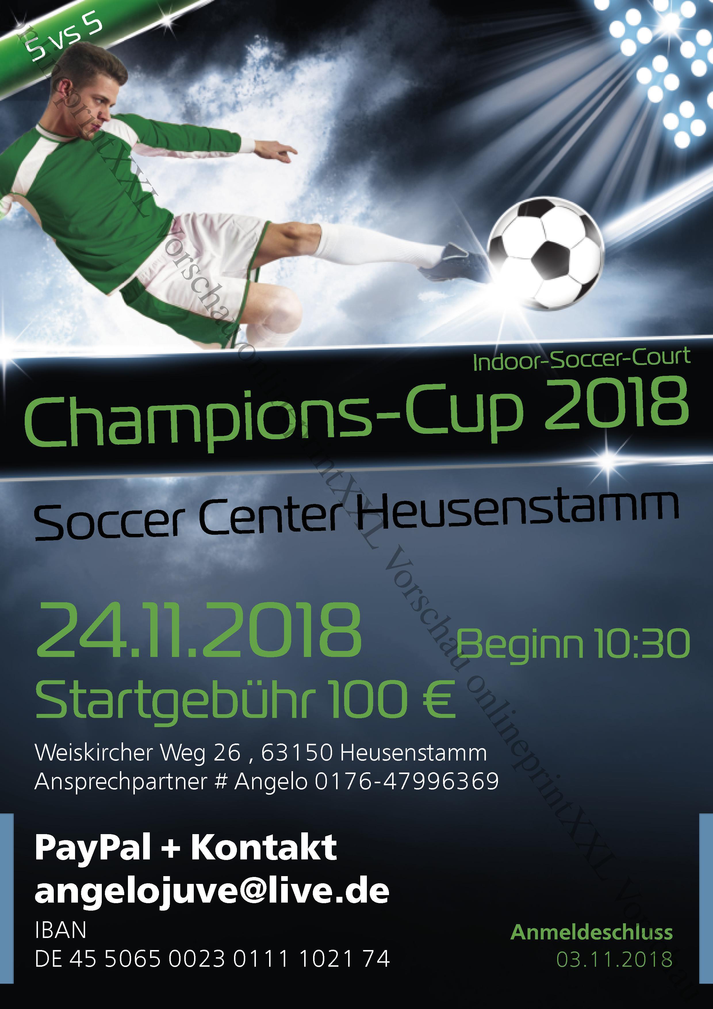 Champions Cup 63150 Heusenstamm Kleinfeldheldende